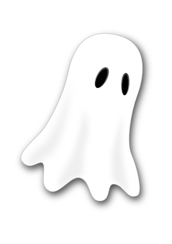 Ghost dog clipart graphic black and white clipartist.net » Clip Art » ghost art SVG graphic black and white