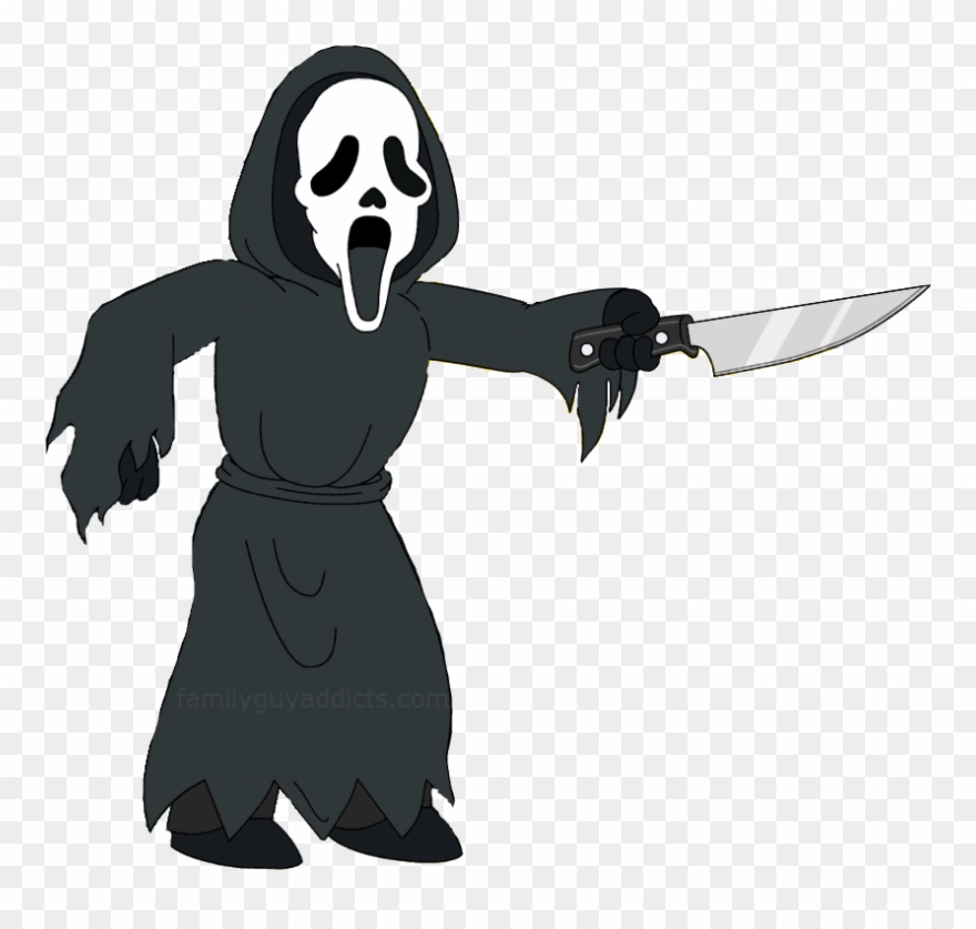 Ghost face clipart svg download Cartoon Ghost Face - Family Guy Ghostface Clipart (#1574812 ... svg download