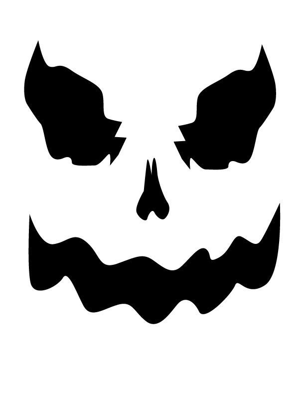 Ghost faces clipart jpg black and white stock Free Printable Ghost Faces, Download Free Clip Art, Free Clip Art on ... jpg black and white stock