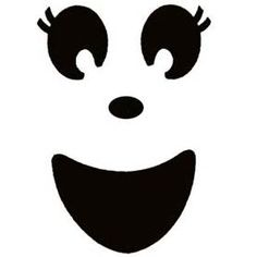 Ghost faces clipart svg black and white download 13 Best ghost faces images in 2016 | Ghost faces, Halloween crafts ... svg black and white download