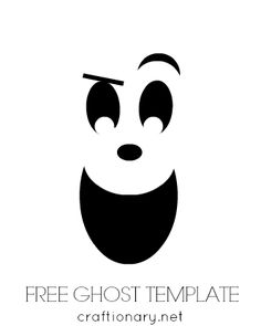 Ghost faces clipart clipart royalty free stock 13 Best ghost faces images in 2016 | Ghost faces, Halloween crafts ... clipart royalty free stock