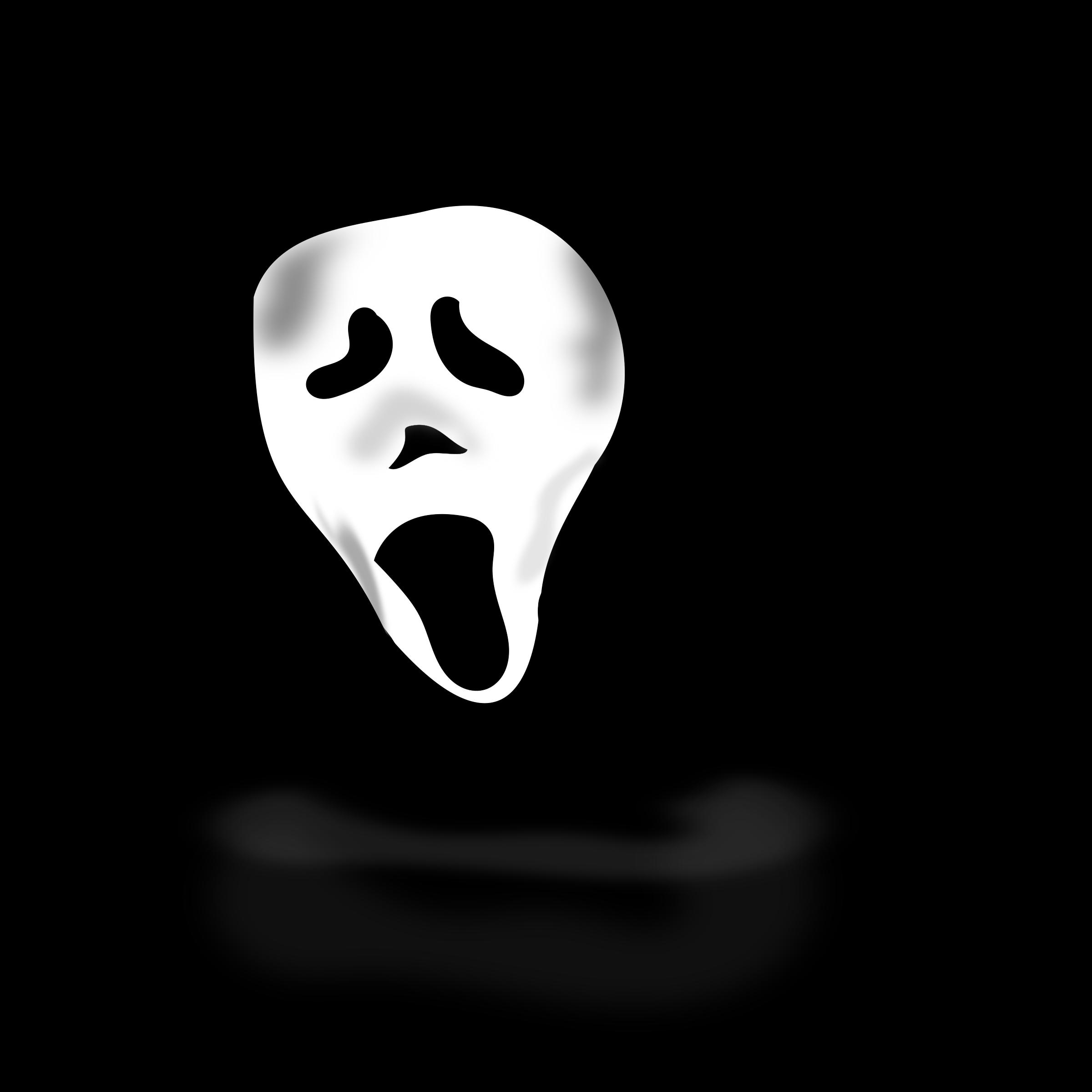 Halloween clipart vectors picture transparent Clipart - ghost under hood picture transparent