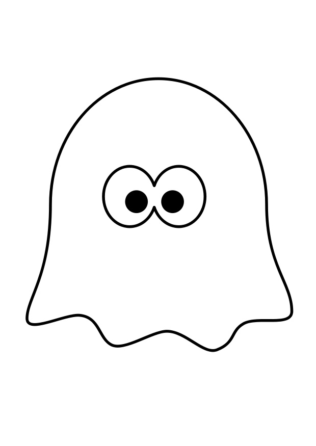 Ghost outline clipart jpg black and white download Free Free Ghost Clipart, Download Free Clip Art, Free Clip Art on ... jpg black and white download