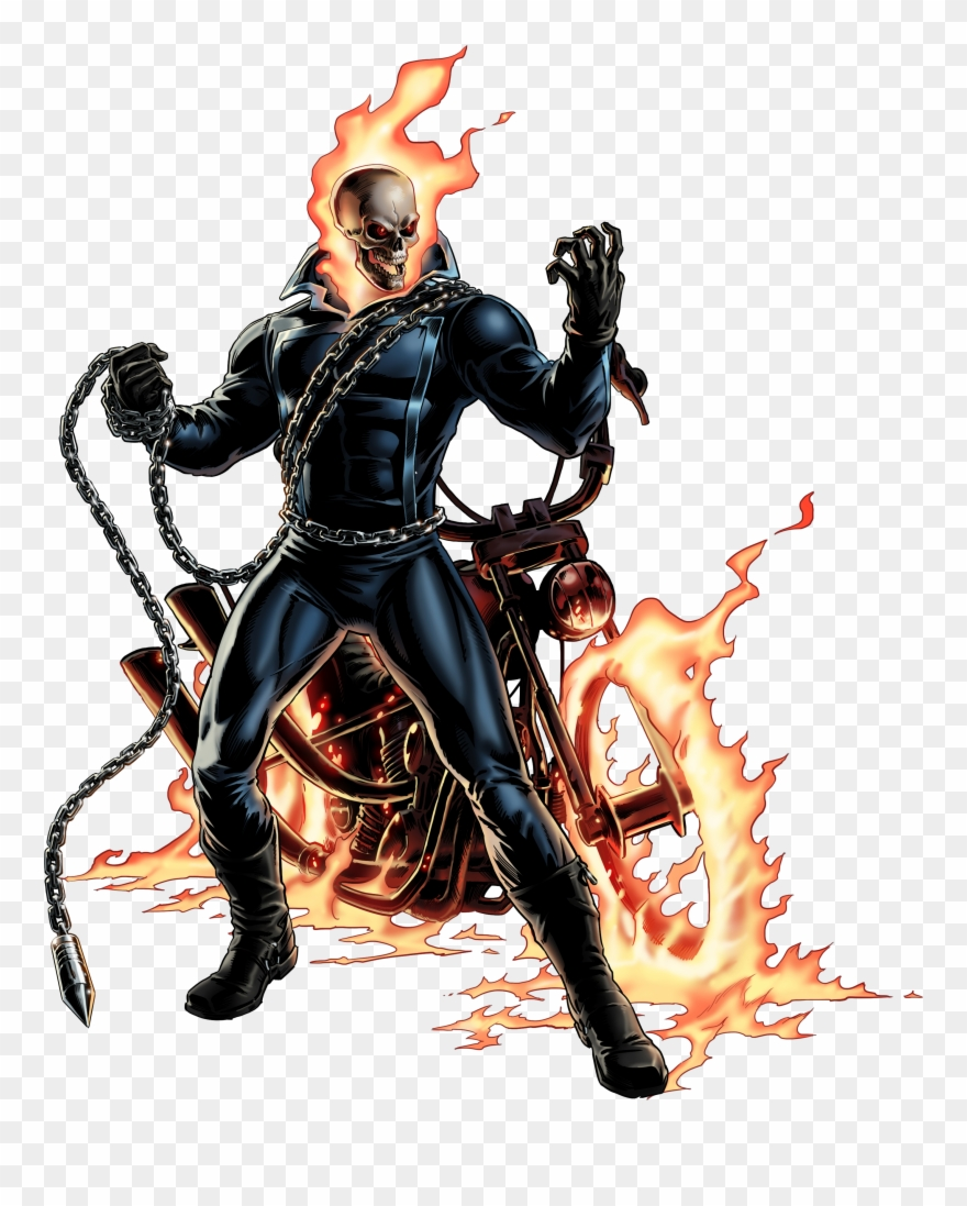 Ghost rider clipart