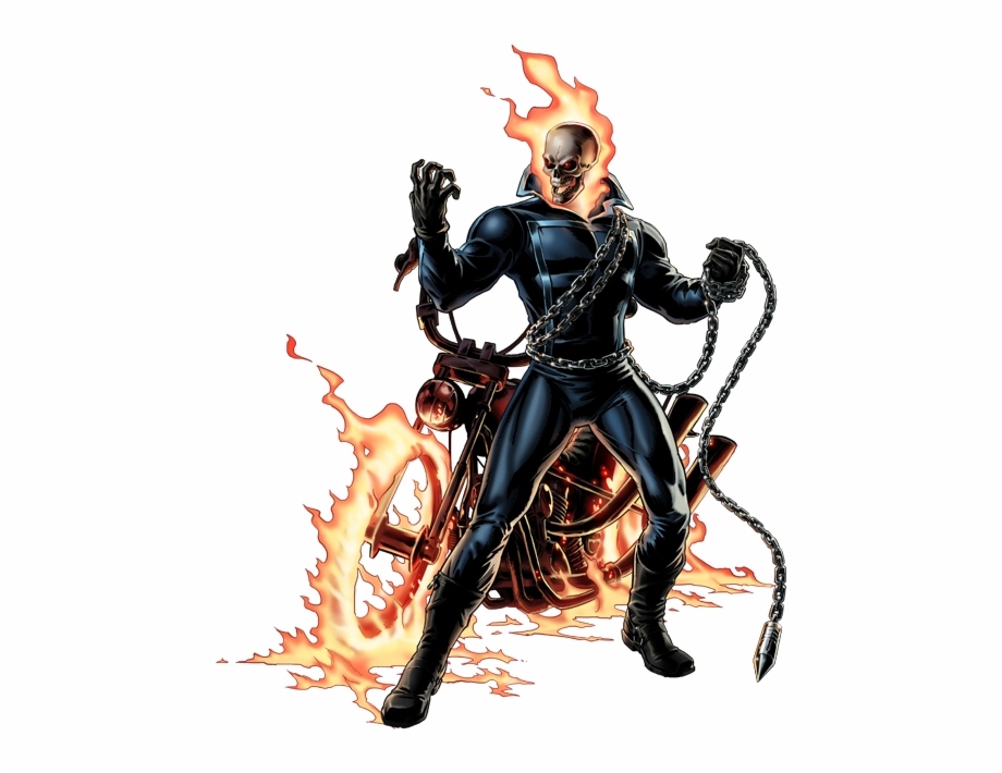 Ghost rider clipart picture freeuse download Ghost Rider - Ghost Rider Comic Png Free PNG Images & Clipart ... picture freeuse download