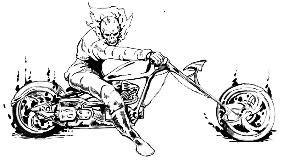Ghost rider clipart image transparent Free Ghost Rider Coloring Pages, Download Free Clip Art, Free Clip ... image transparent