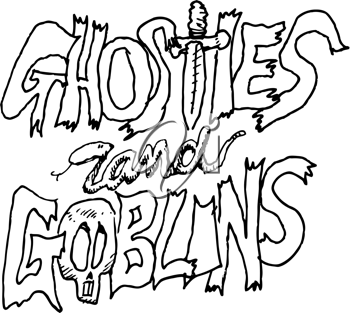 Ghosts and goblins clipart clip art library stock Royalty Free Clipart Image of Ghosts and Goblins #507594 | iCLIPART.com clip art library stock