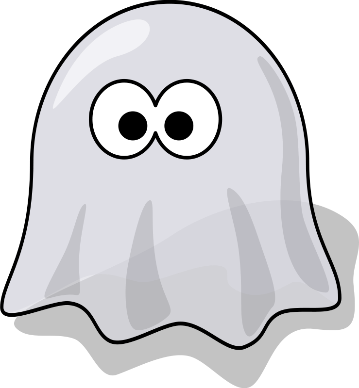 Ghosts clipart black and white halloween svg free Ghost | Free Stock Photo | Illustration of a cartoon halloween ghost ... svg free