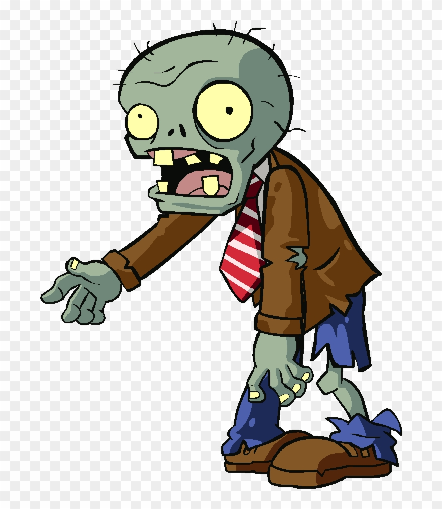 Zomie clipart clipart black and white download Ghoul Clipart Zombie - Plants Vs Zombies 2 Rally Zombie - Png ... clipart black and white download