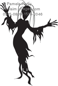 Ghouls clipart banner black and white library ghouls clipart images and stock photos   Acclaim Images banner black and white library