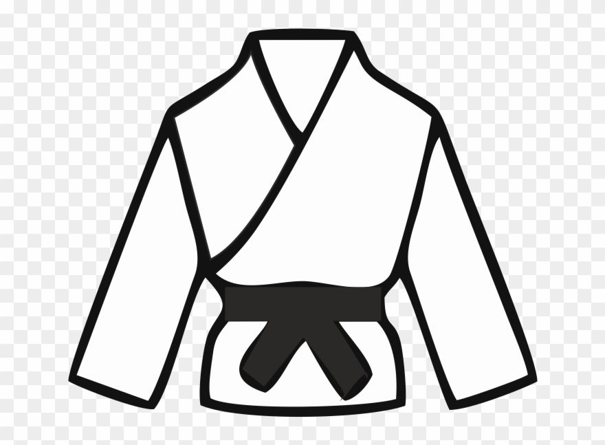 Karate gi clipart svg free download Founded In 1983 We Have A Rich Heritage In The Sport - Karate Gi ... svg free download
