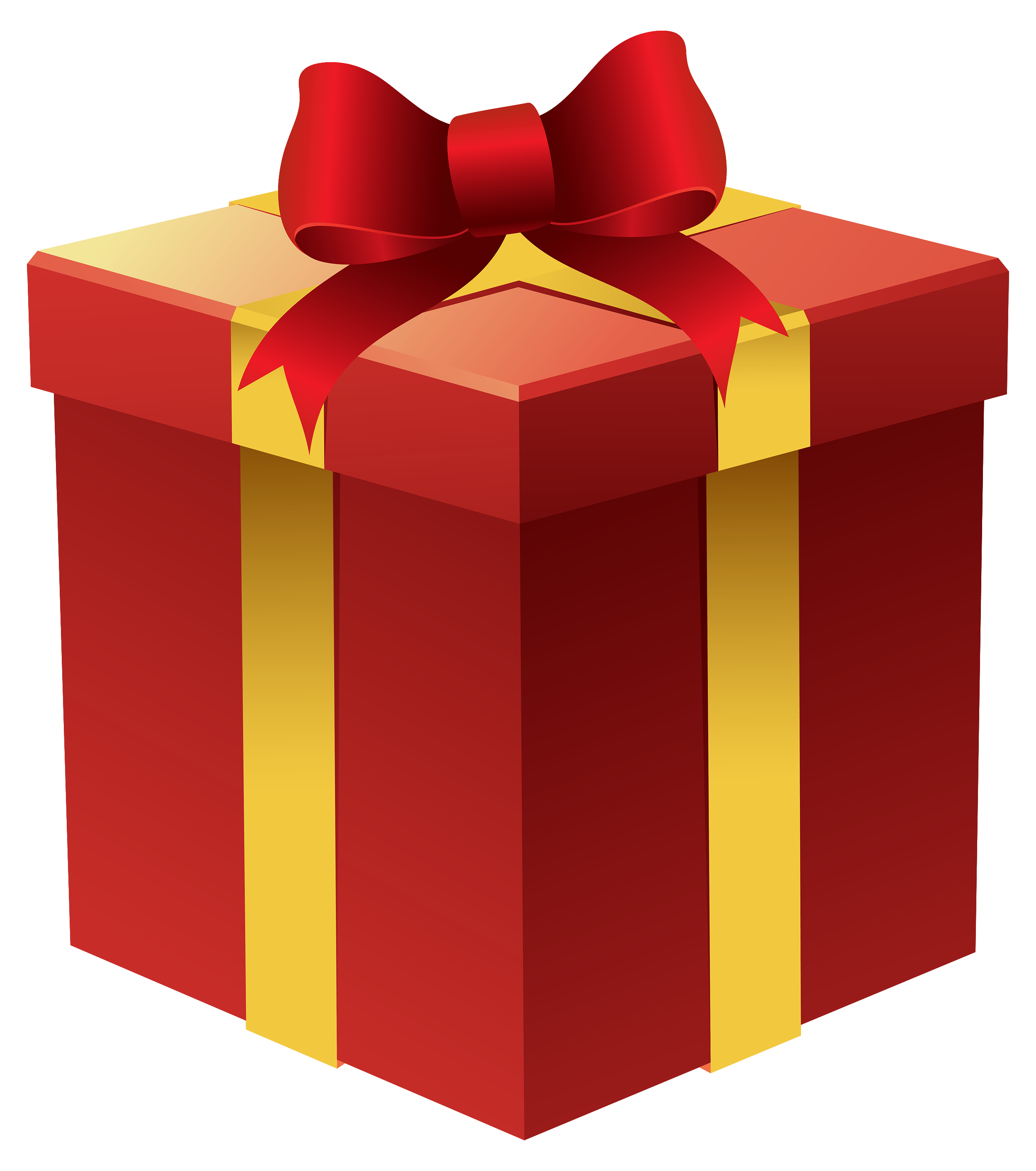 Clipart gift jpg freeuse stock Gift Box in Red PNG Clipart - Best WEB Clipart jpg freeuse stock