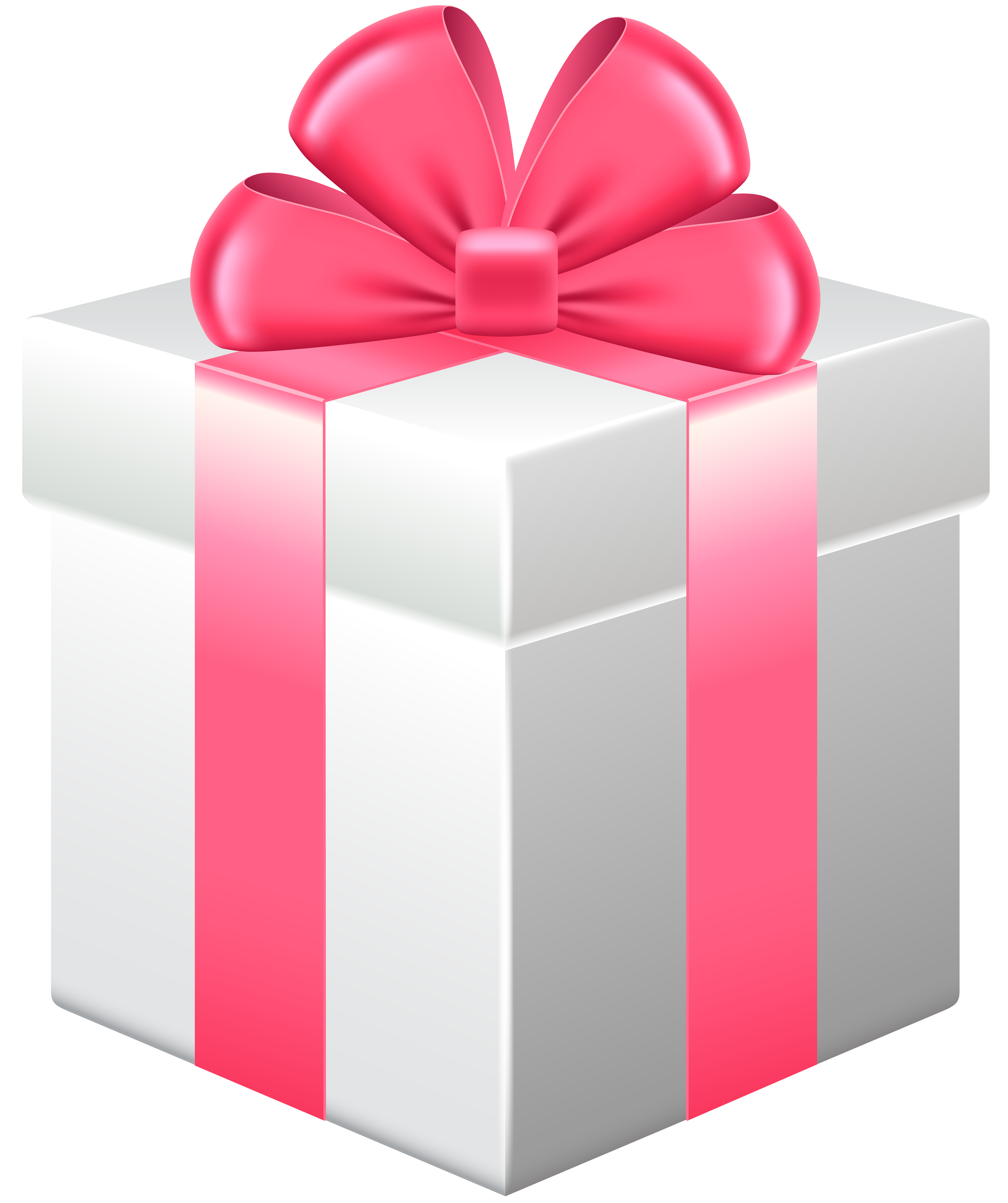 Gift box with money coming out clipart banner library stock Gift Box with Pink Bow PNG Clipart - Best WEB Clipart banner library stock
