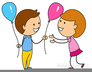 Gift giving clipart graphic freeuse Children Giving Gifts Clipart   Free Images at Clker.com - vector ... graphic freeuse