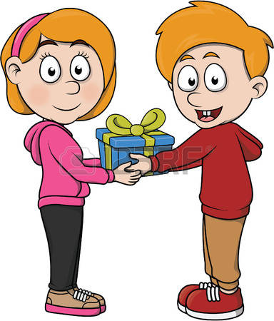 Gift giving clipart graphic Gift giving clipart 6 » Clipart Station graphic