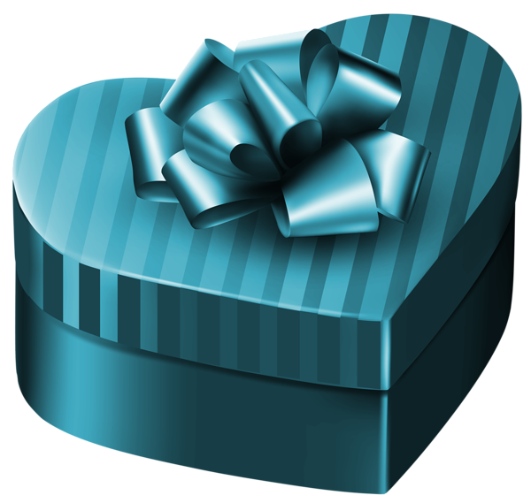 Gift heart clipart svg transparent download Luxury Gift Box Heart PNG Clipart Image | валентинки | Pinterest ... svg transparent download