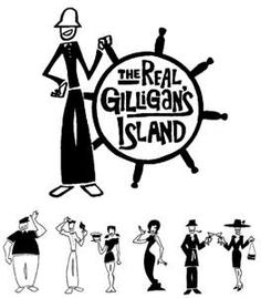 Gilligan s island clipart clip art free Pinterest clip art free