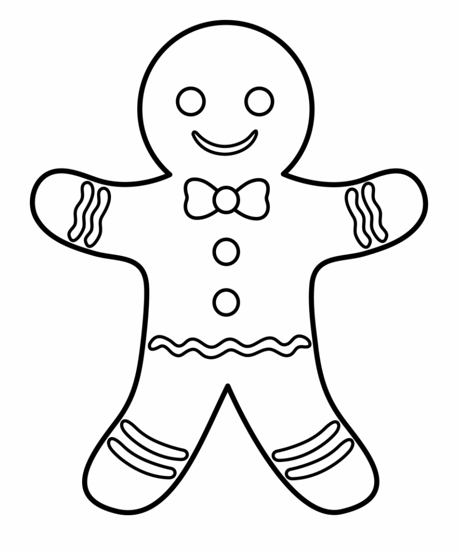 Free black and white gingerbread man clipart royalty free library Free Gingerbread Man Cliparts, Download Free Clip Art, - Gingerbread ... royalty free library