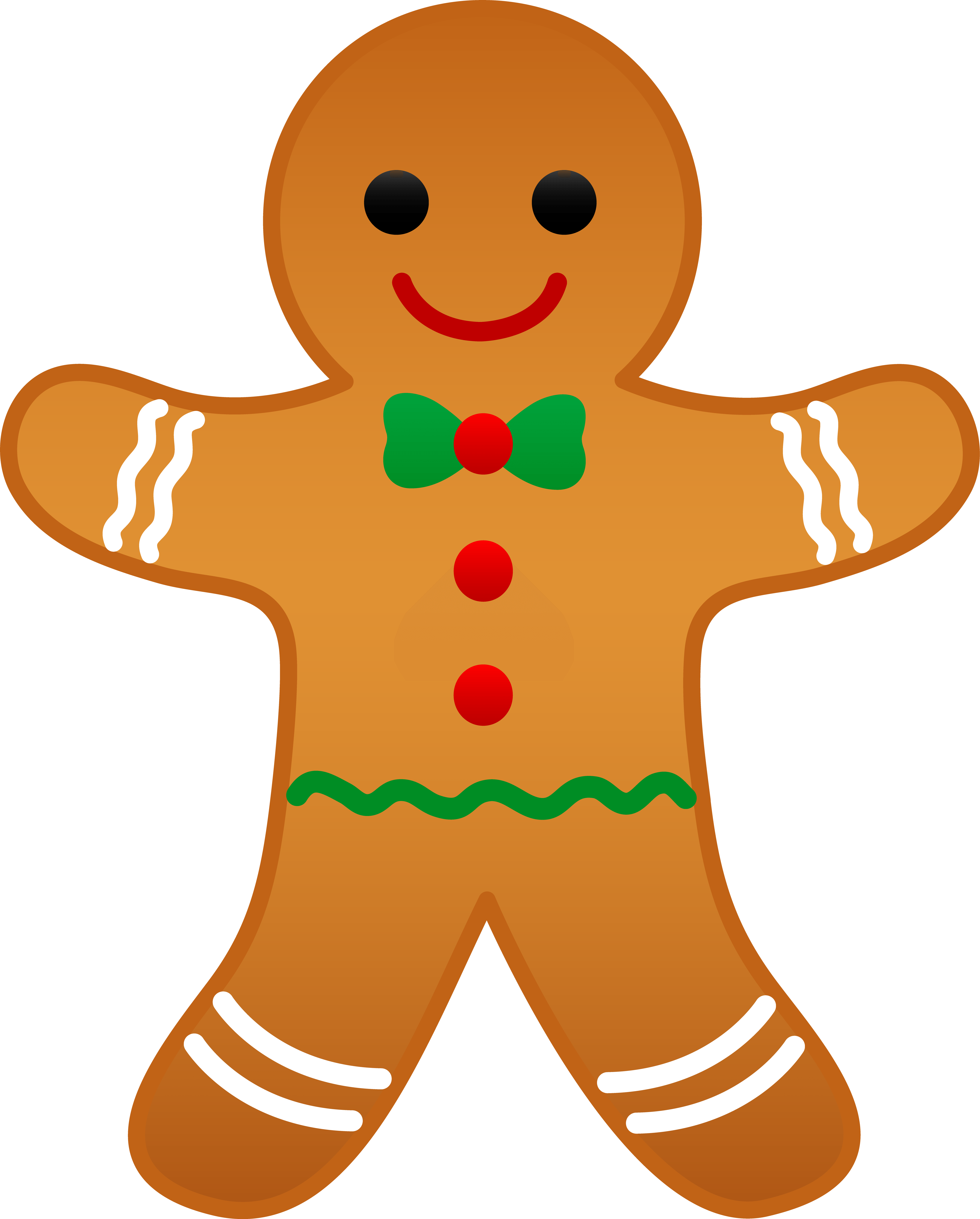 Gingerbread cookie clipart graphic royalty free library Gingerbread Cookie Cliparts - Cliparts Zone graphic royalty free library