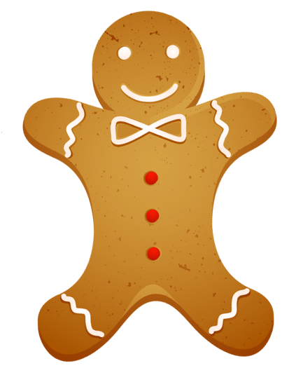 Gingerbread cookie clipart banner download Transparent Christmas Gingerbread Cookie PNG Clipart | Gallery ... banner download