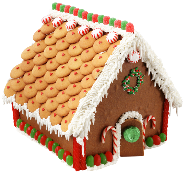 Hansel and gretel house clipart freeuse Large Transparent Gingerbread House PNG Picture | Gingerbread ... freeuse