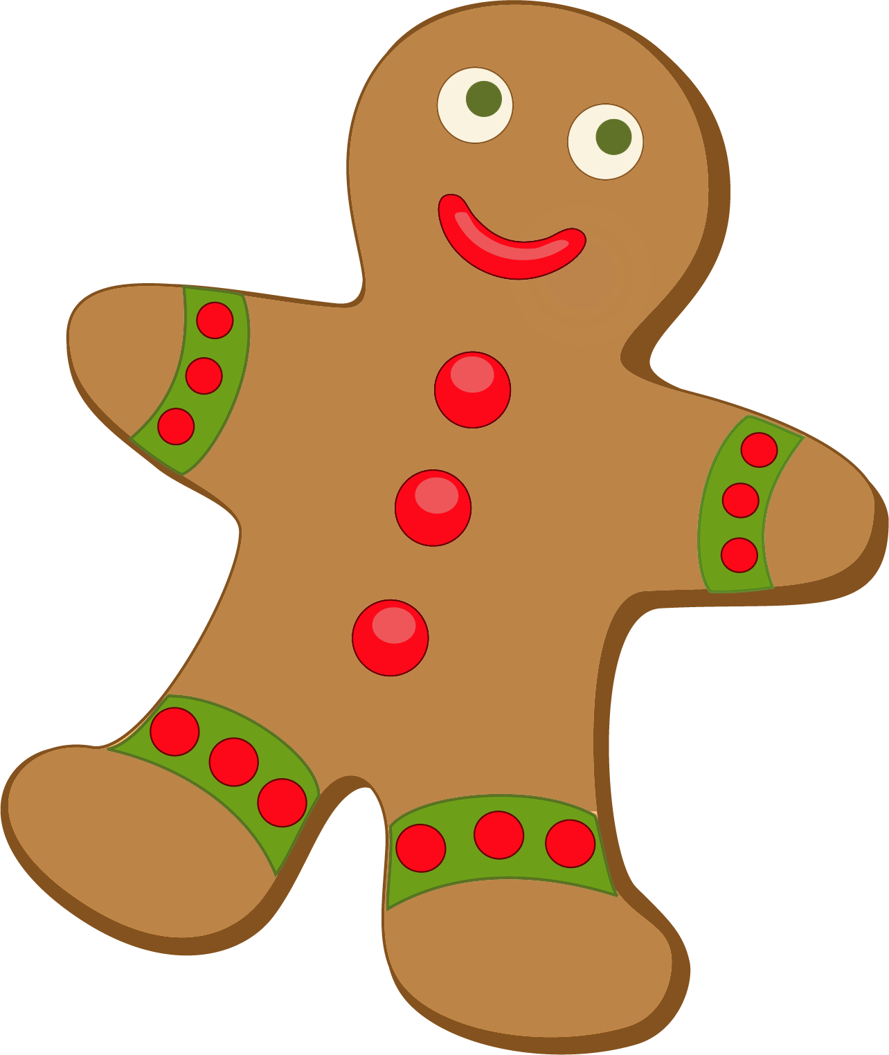 Gingerbread free clipart transparent stock Free Gingerbread Cliparts, Download Free Clip Art, Free Clip Art on ... transparent stock