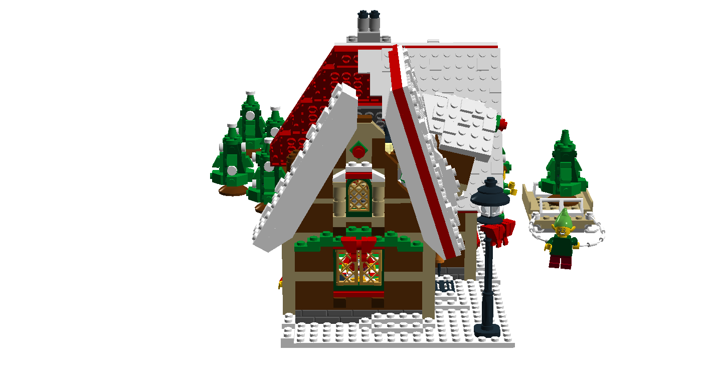 Gingerbread house chimney clipart clipart royalty free download LEGO Ideas - Product Ideas - Christmas Tree Lot clipart royalty free download