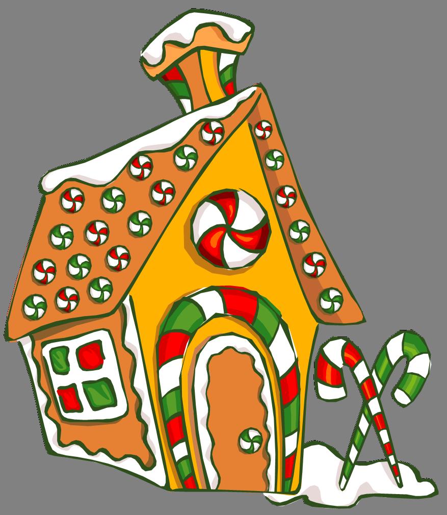 Gingerbread house clipart transparent clip free Build a