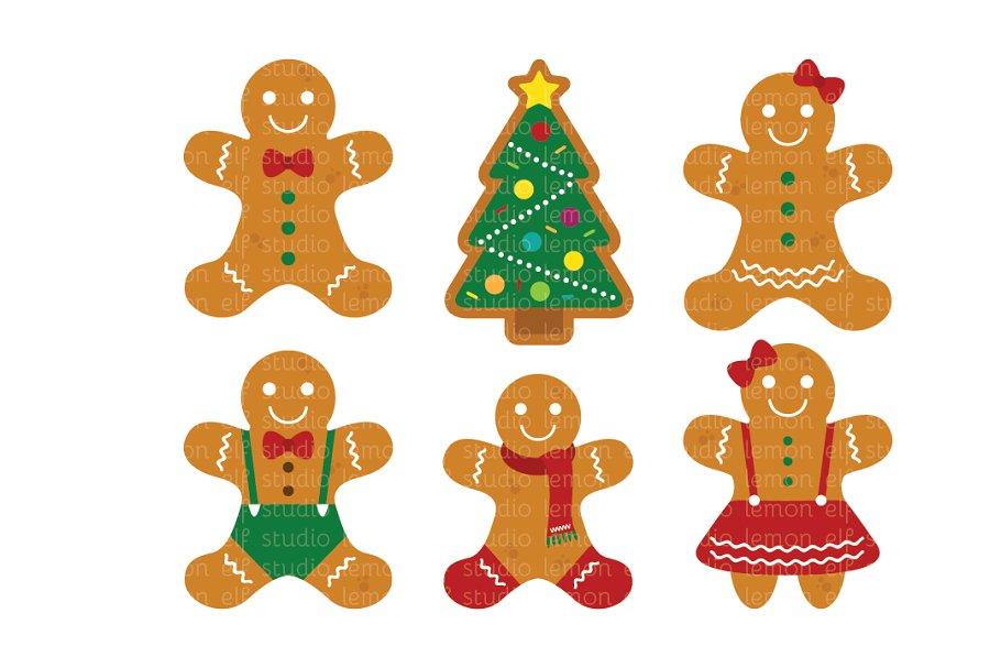 Gingerbread images clipart banner transparent download Gingerbread Clipart (LES.CL51) banner transparent download
