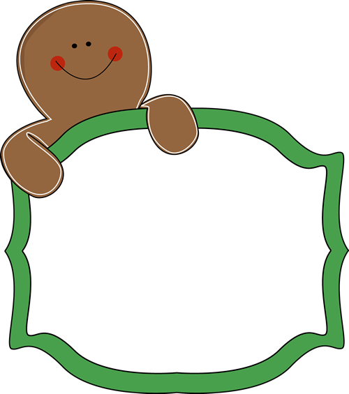 Gingerbread man border clipart free clipart free Free Gingerbread Clip Art Borders | Gingerbread Man Sign Clip Art ... clipart free