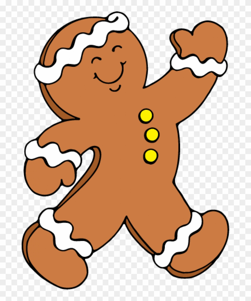 The gingerbread man clipart svg free library Permalink To Gingerbread Man Clipart - Running Gingerbread Man ... svg free library