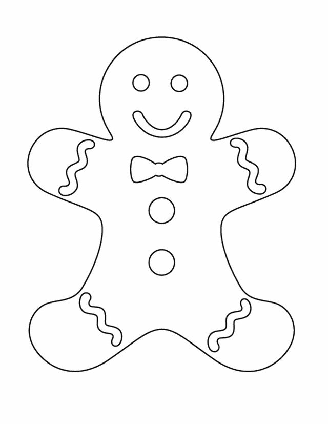Gingerbread man filled with puzzle pieces clipart vector freeuse download 17 Best ideas about Gingerbread Man Template on Pinterest ... vector freeuse download