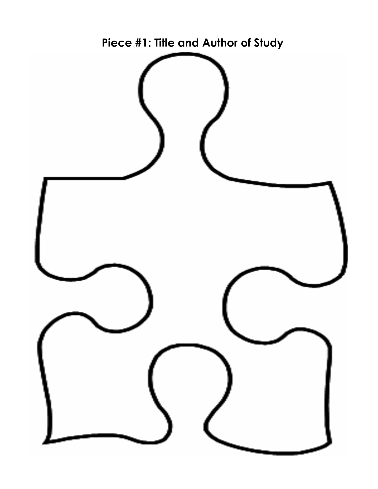 Gingerbread man filled with puzzle pieces clipart vector library download Puzzle Pieces Templates. printable puzzle pieces template. large ... vector library download