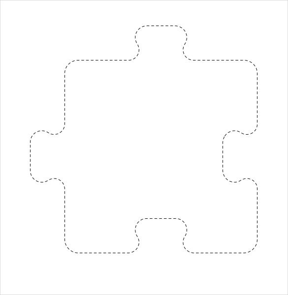 Gingerbread man filled with puzzle pieces clipart clipart free download Puzzle Pieces Templates. printable puzzle pieces template. large ... clipart free download