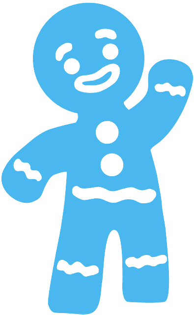 Gingerbread man silhouette clipart png royalty free stock Gingerbread Man silhouette - Free Vector Silhouettes | Creazilla png royalty free stock