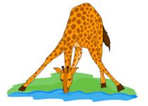 Giraffe clipart kostenlos clip free library Free Giraffe Clipart - Clip Art Pictures - Graphics - Illustrations clip free library