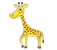 Giraffe clipart kostenlos vector royalty free stock Free Giraffe Clipart - Clip Art Pictures - Graphics - Illustrations vector royalty free stock