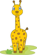 Giraffe clipart kostenlos png stock Free Giraffe Clipart - Clip Art Pictures - Graphics - Illustrations png stock
