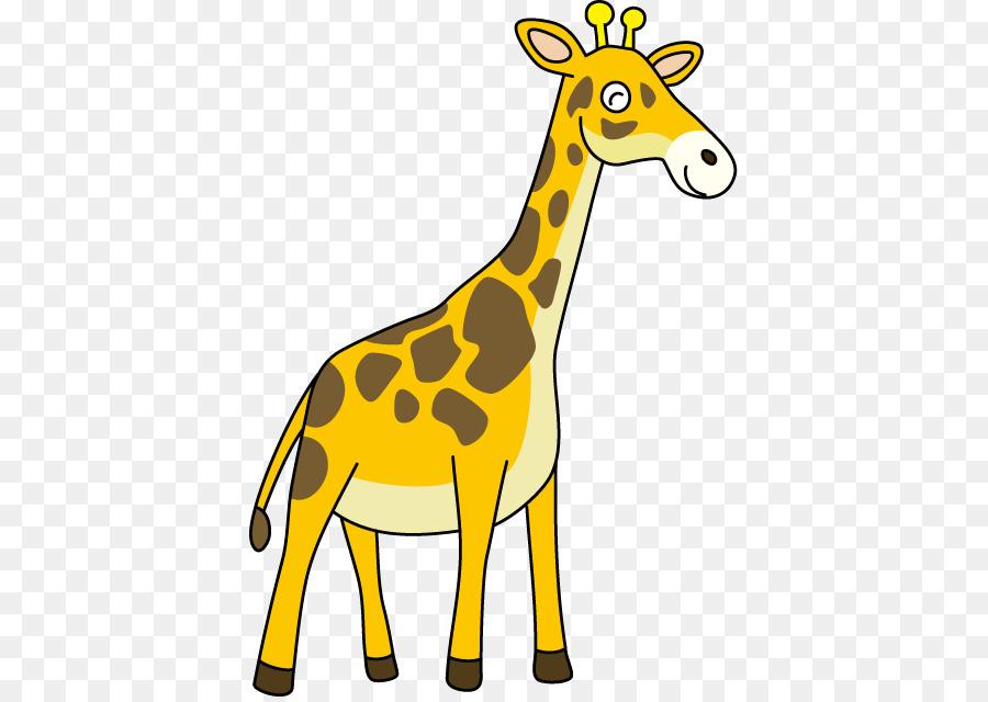Giraffe clipart png clipart transparent stock Giraffe Cartoon png download - 445*636 - Free Transparent Northern ... clipart transparent stock