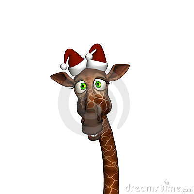 Giraffe kopf clipart graphic library download Giraffe Christmas Stock Photos, Images, & Pictures - 292 Images graphic library download