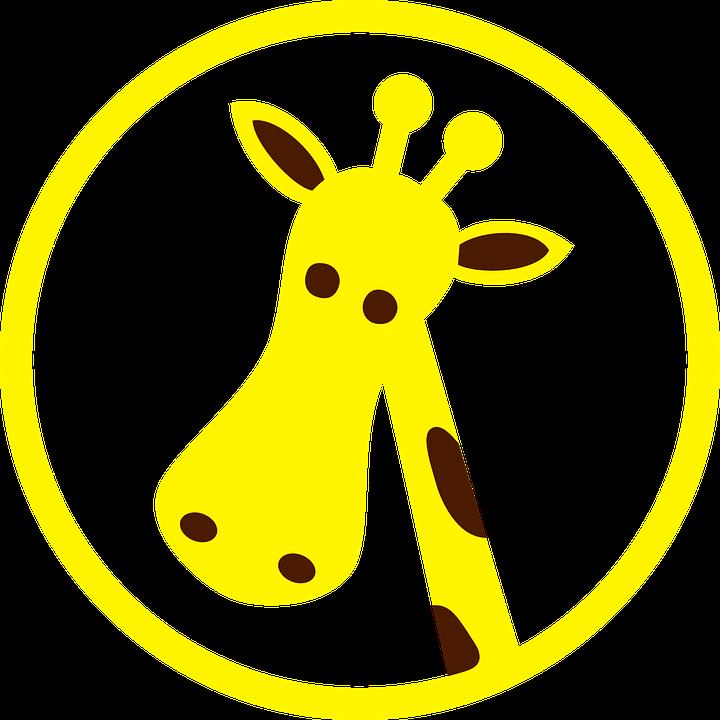 Giraffe kopf clipart vector stock Giraffe, Portrait - Free images on Pixabay vector stock