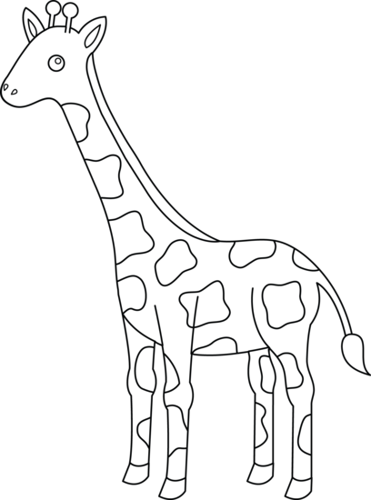 Giraffe outline clipart black and white free graphic freeuse stock Free Outline Giraffe Cliparts, Download Free Clip Art, Free Clip Art ... graphic freeuse stock