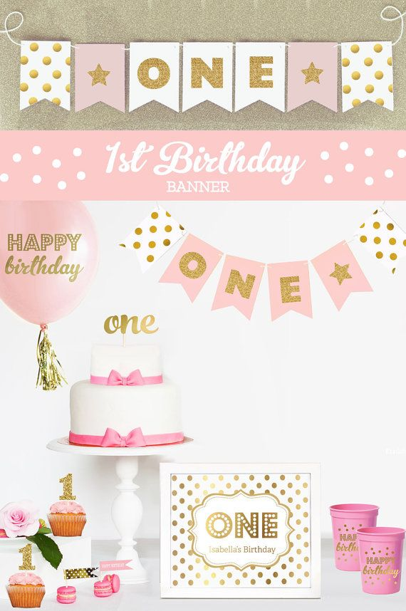 Girl 1st birthday clipart banner jpg transparent library 17 Best ideas about Birthday Picture Banner on Pinterest | First ... jpg transparent library