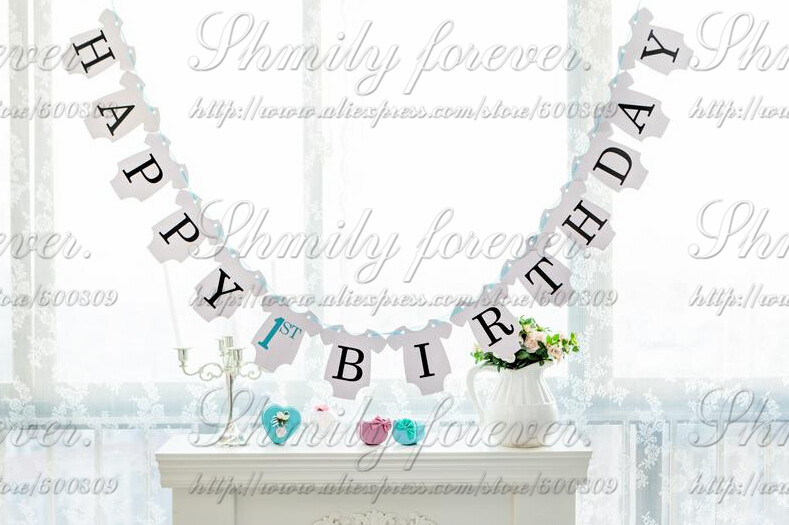 Girl 1st birthday clipart banner picture library library Compare Prices on 1st Birthday Boy Banner- Online Shopping/Buy Low ... picture library library