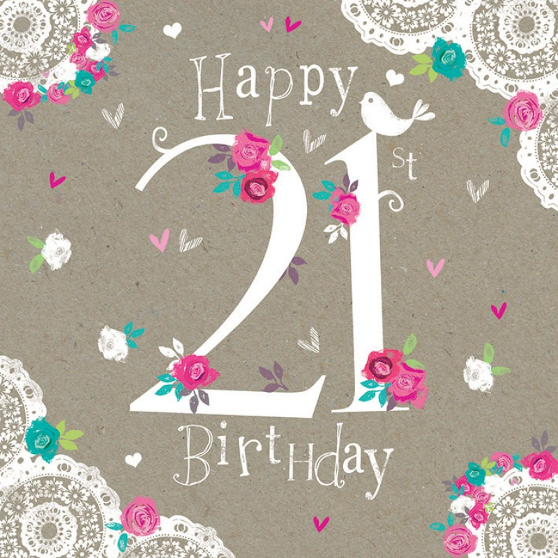 Girl 21st birthday clipart jpg freeuse stock Happy 21st Birthday | Free Download Clip Art | Free Clip Art | on ... jpg freeuse stock