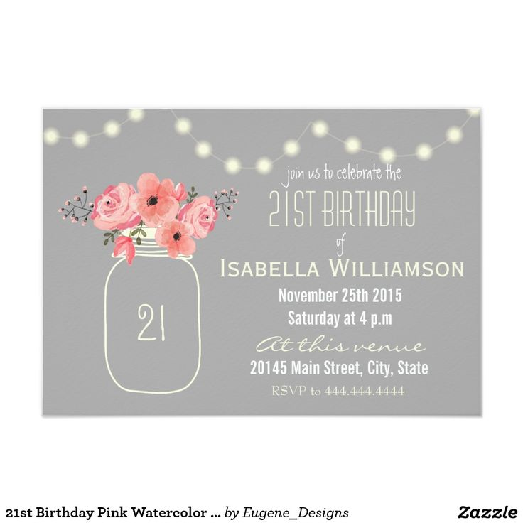 Girl 21st birthday clipart svg royalty free library 17 Best ideas about Invitation Card Birthday on Pinterest | First ... svg royalty free library