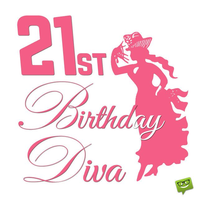 Girl 21st birthday clipart clipart library download Birthday Wishes for 21st Birthday clipart library download