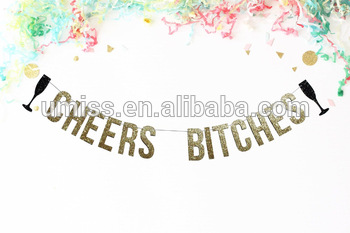 Girl 21st birthday clipart image library stock 6' Long Diy Girl's 21st Birthday Party Cheers Bitches Banner For ... image library stock