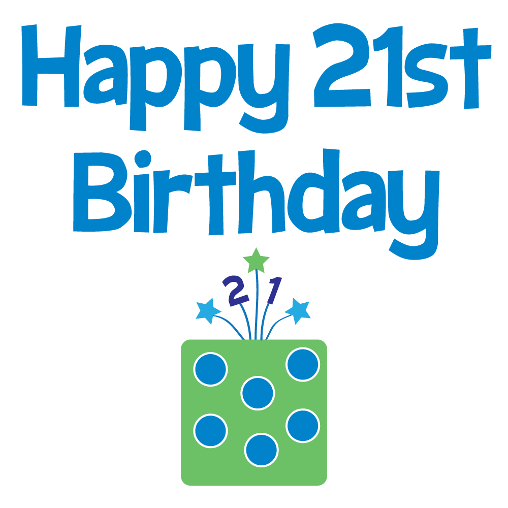 21st Birthday Girl Clipart - Clipart Kid png library