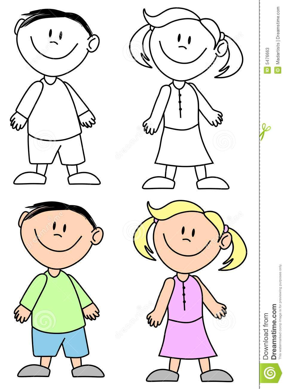 Girl and boy clipart black and white free graphic library library Black And White Clipart Boy And Girl - Free Clipart graphic library library